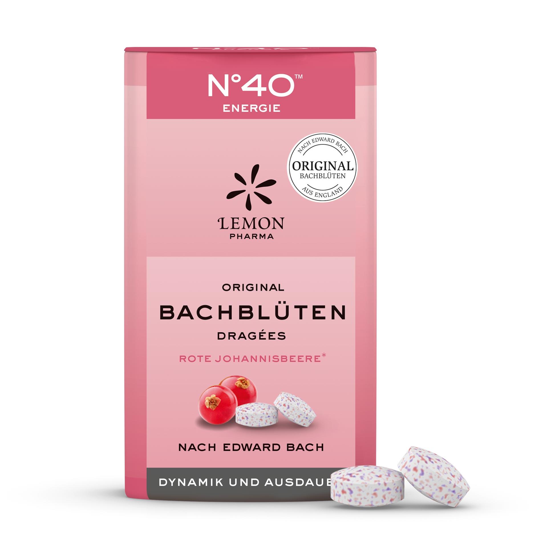 Fiori di Bach originali Lemon Pharma Nr 40  Energia Confetti Dinamismo e resistenza hornbeam