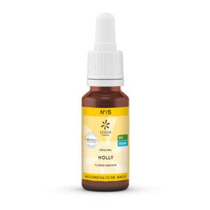 Nr 15 Holly Stechpalme Extreme Beeinflussbarkeit Lemon Pharma Original Bachblüten Dr. Bach