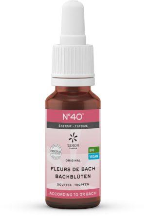 Energie Bachblüten-Tropfen N°40 Melange Original Bachblüten Dr. Bach Lemon Pharma Murnauers