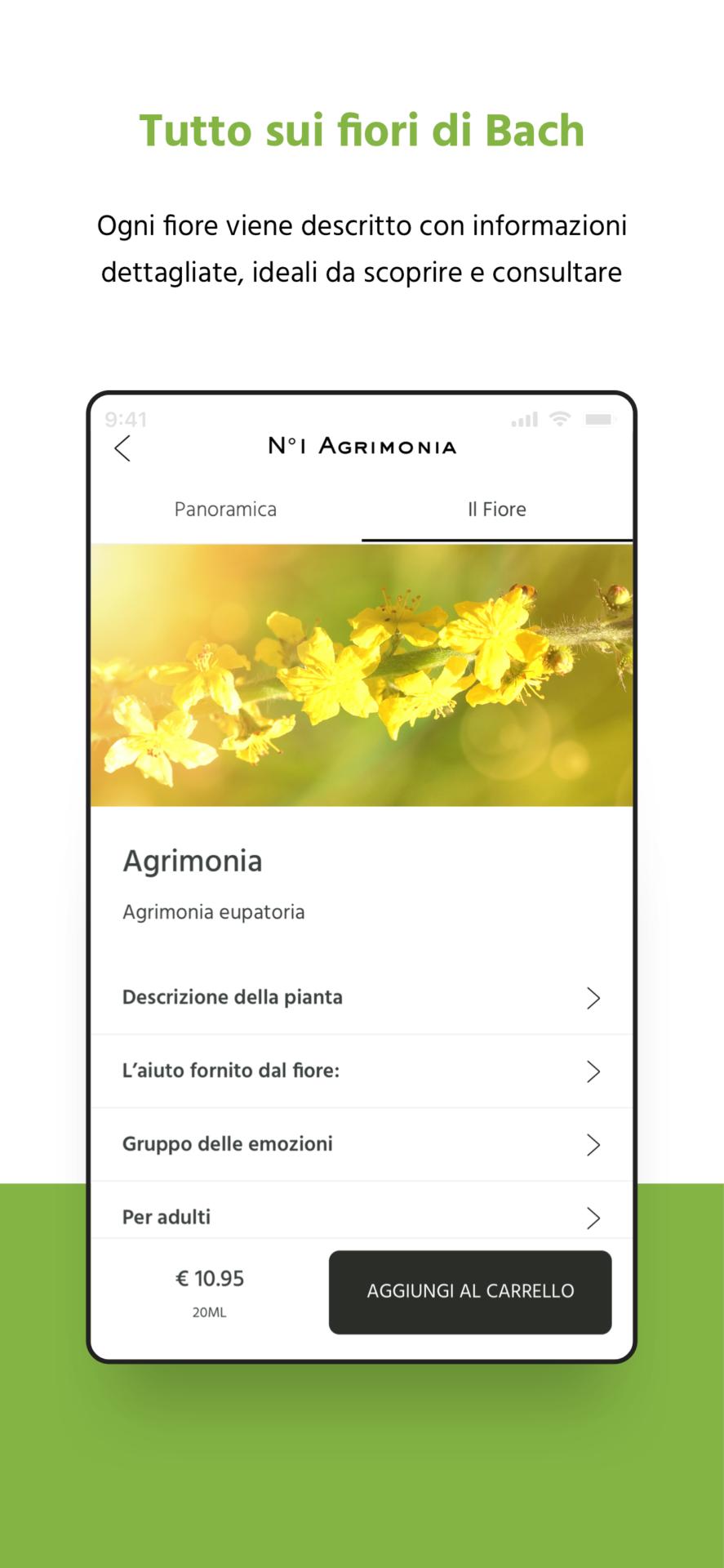 App fiori di Bach Lemon Pharma